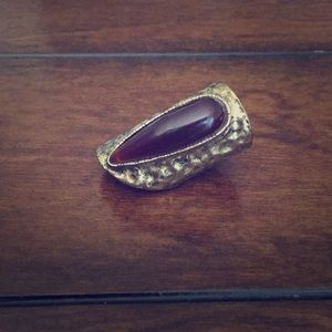 Gold/Brown Ring